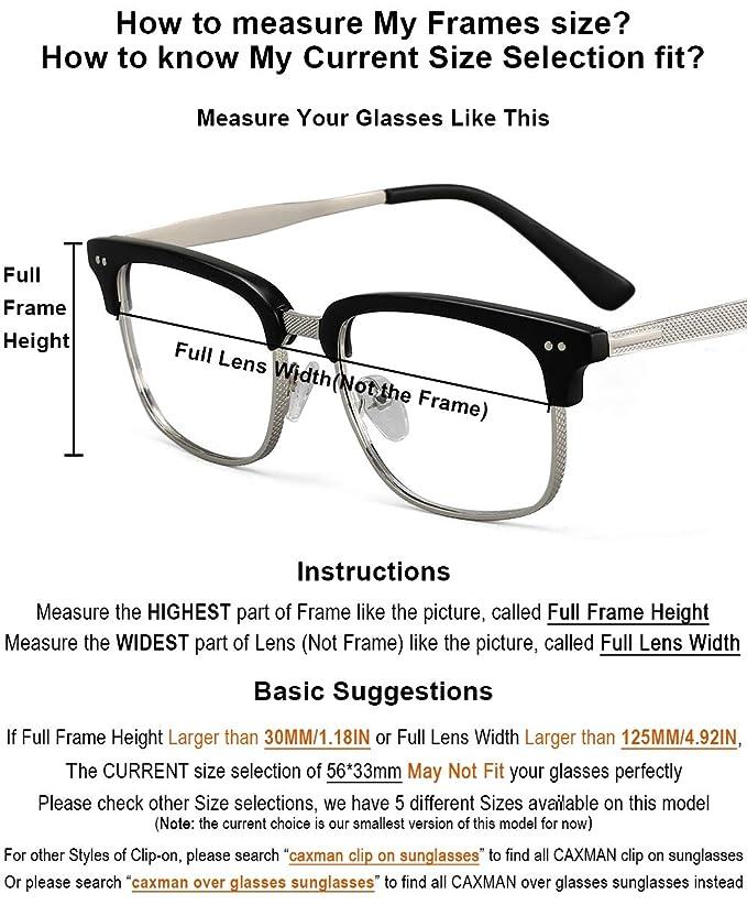 ae9937d36b anteojos de sol polarizadas con clip de metal para anteojos de  prescripción, Black+yellow(day&night), Small: Amazon.com.mx: Ropa, Zapatos  y Accesorios