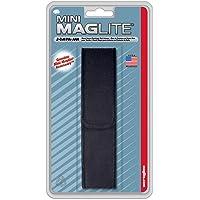 Maglite Nylon Full Flap Belt Holster for AAA Cell Mini Flashlights, Black