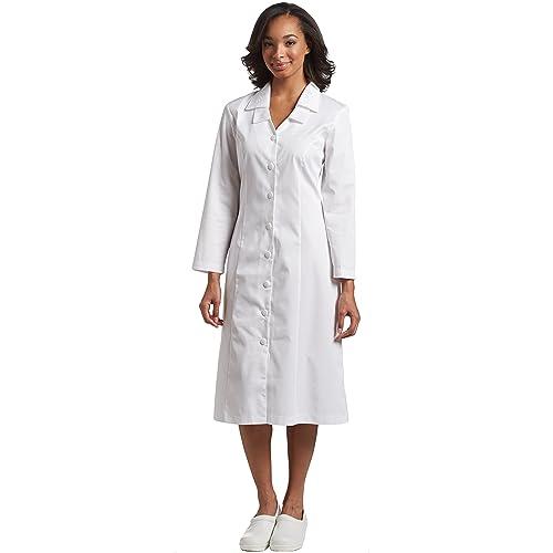 White Usher's Dresses for Women's