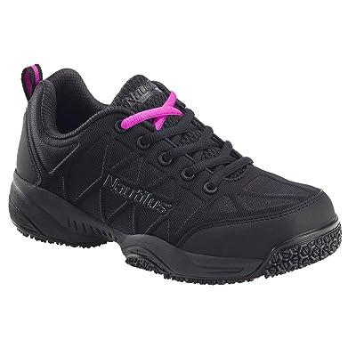 Nautilus Women's 2158 Comp Toe Athletic Work Shoes, Black: Shoes