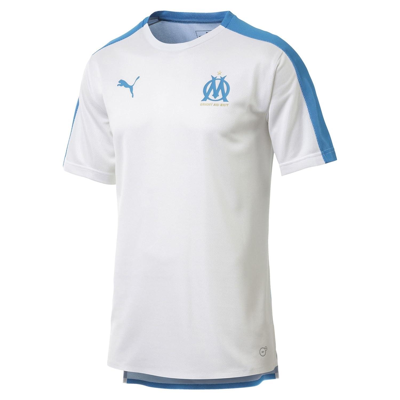 Puma Herren Olympique De Marseille Stadium Jersey Ss Ohne Sponsor Log T-Shirt