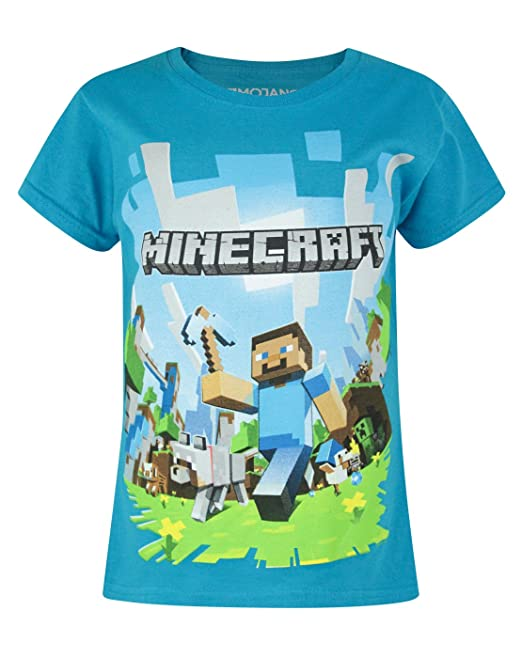 Adventure Minecraft Shirt5 YearsAmazon Girl's 6 T Official it QtCsBrxhdo