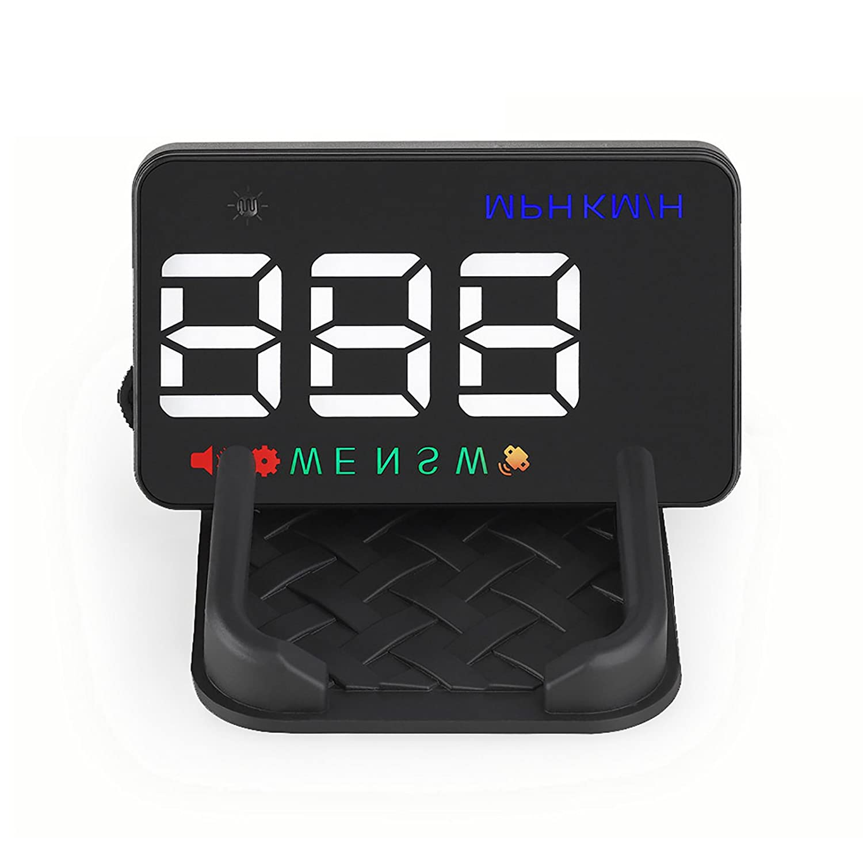 GOGOLO 3.5 '' A5 GPS HUD Head Up Display Km / h MPH Ü ber Geschwindigkeit Alarm Tachometer Fahrzeug SUV, Zigarettenanzü nder Powered & 2 Displays Alternativen mit Copmass GGL-A5-HUD