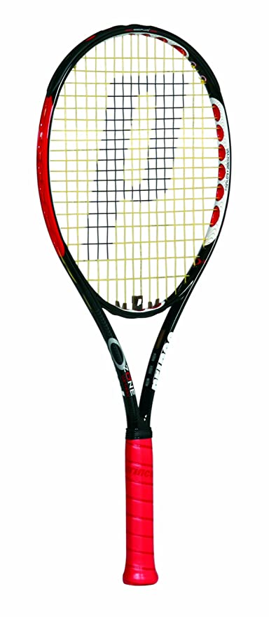8c85bc36a1 Buy Prince Ozone 7 Mid Plus Tennis Racquet -Strung with Cover (4 0 1) Online  at Low Prices in India - Amazon.in