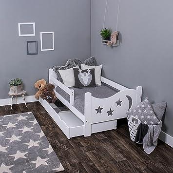 kagu chrisi junior lit lit lit enfant jeunesse bois de pin 140 x 70 cm