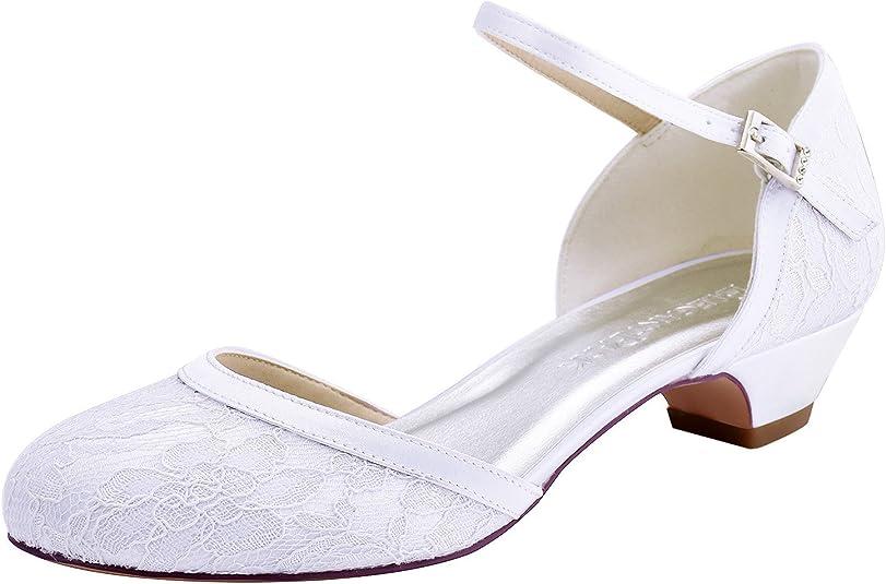 Elegantpark HC1620 Wedding Shoes Women