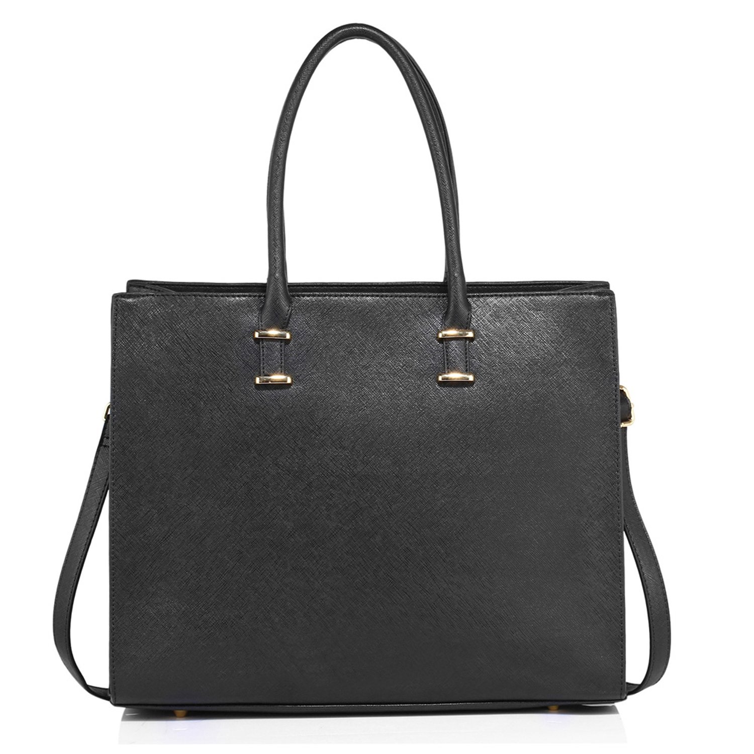 44369e97a3c Xardi London Large Women Designer Handbag Faux Patent Leather Ladies  Shoulder Tote Laptop Bag
