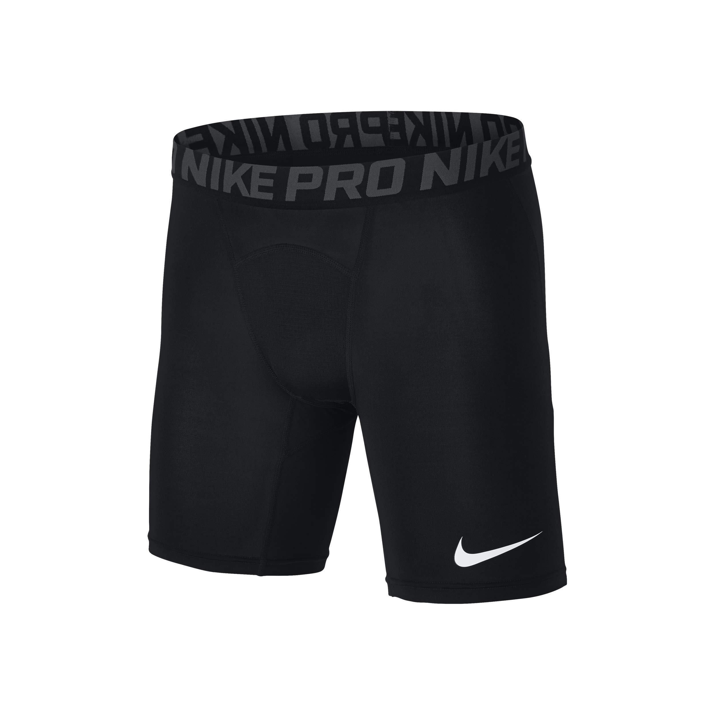 Nike Pro Men's 6'' Training Shorts (M, Black)