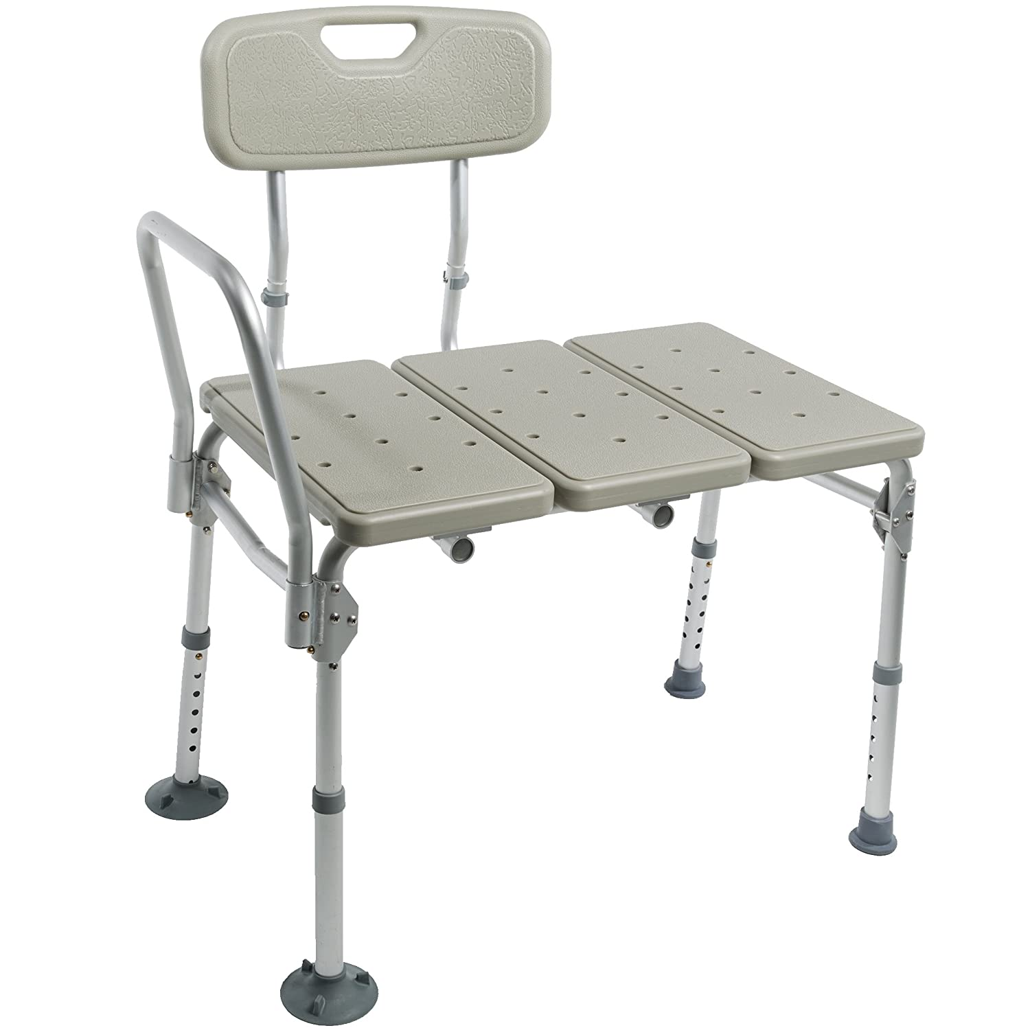 Amazon.com: Pcp Lightweight Folding Transfer Bath Bench, Silver Frost:  Health & Personal Care