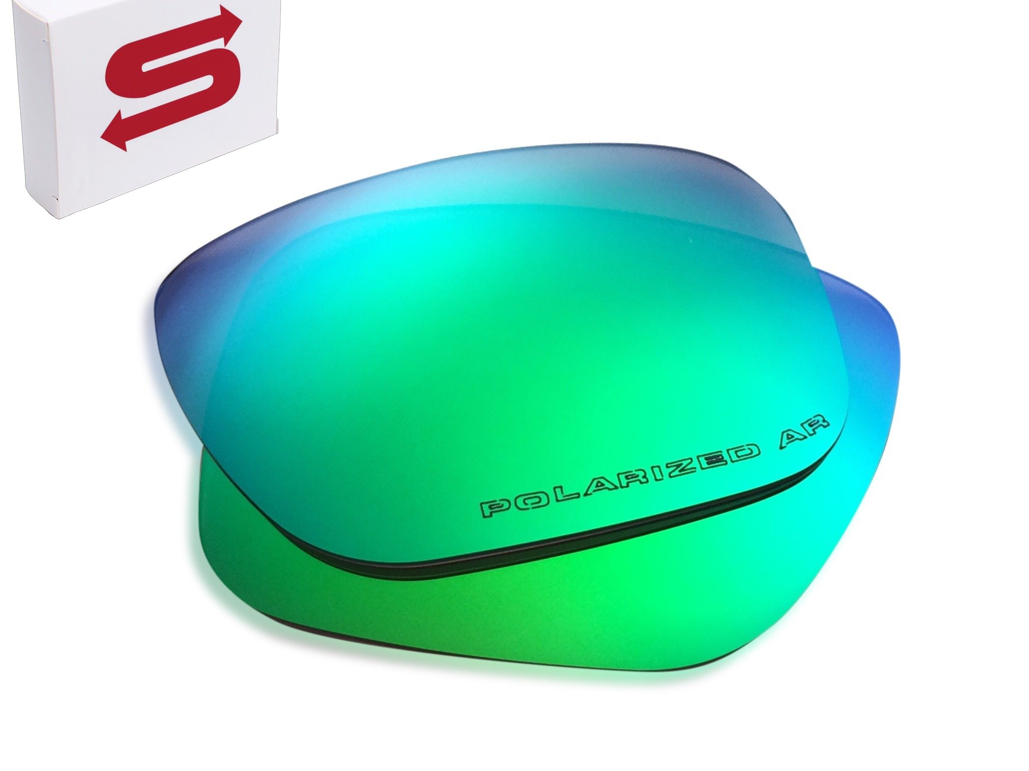 Lens Swap GREEN Oakley Holbrook Lenses POLARIZED by QUALITY & PERFECT FIT