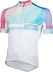 ca7d01bd8 Corbah Stained Glass Mens Season One Short Sleeve Cycling Jersey