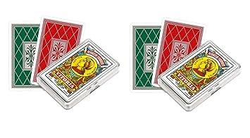 Outletdelocio. Pack de 2 Baraja española Fournier. 40 cartas ...
