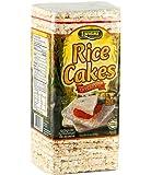 Landau Thin Cakes (Rice Cake Unsalted) 4.6 oz. Pack of 12