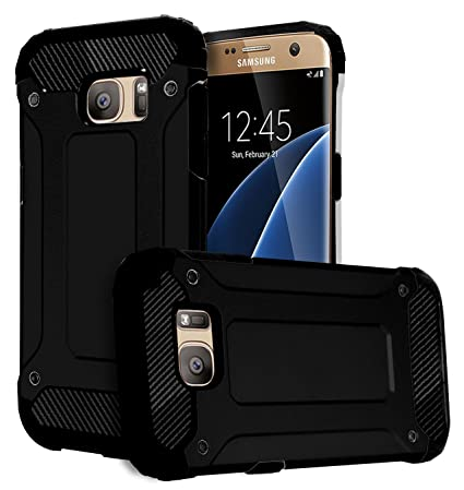 S7 EDGE Case, Phonelicious [Slim Fit] [Heavy Duty] Ultimate Drop Protection  Rugged Cover for SAMSUNG GALAXY S7 EDGE plus Screen Protector& Stylus