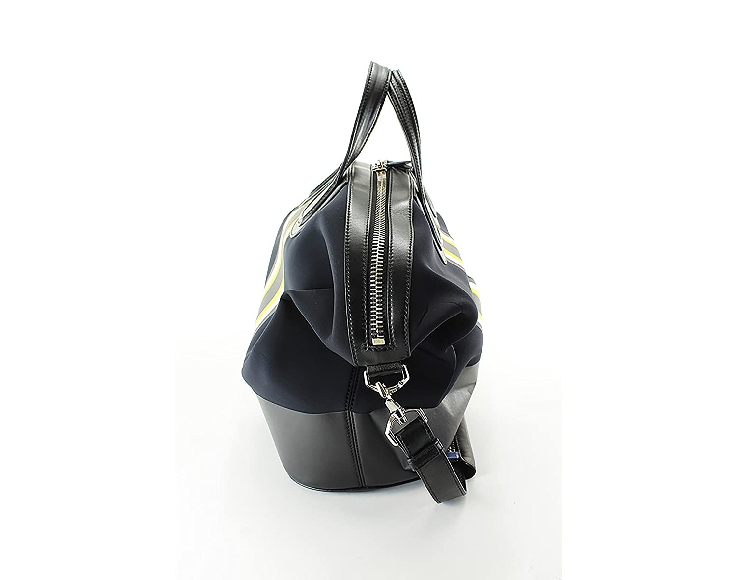 56a74409e7 Givenchy Striped Neoprene Weekend Bag - Solid Black Polyamide   Amazon.co.uk  Shoes   Bags