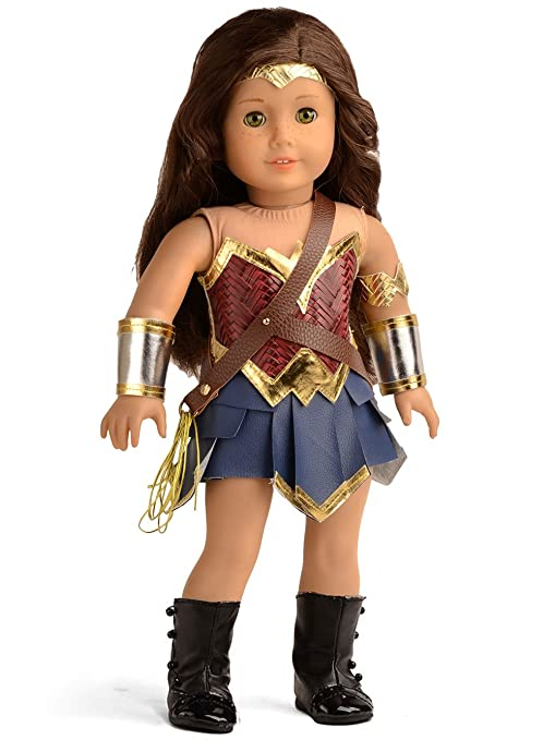 Doll Clothes Wonder Girl Princess Diana Costume for 18 Inch American Girl Dolls  sc 1 st  Amazon.com & Amazon.com: Doll Clothes Wonder Girl Princess Diana Costume for 18 ...