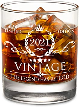 The Legend Has Retired - Limited Edition Retirement Gift