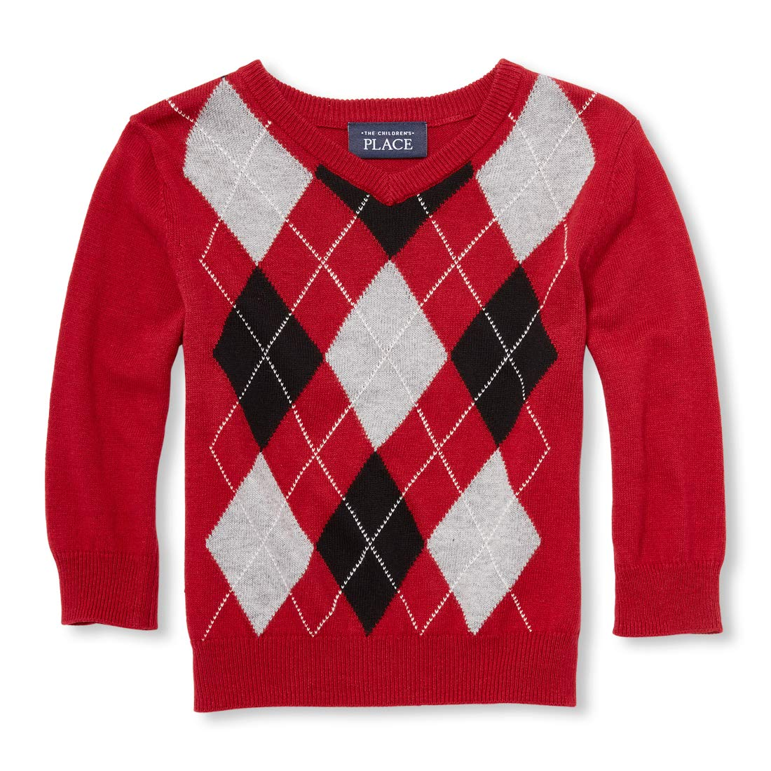 The Childrens Place Baby Boys Argyle Sweaters