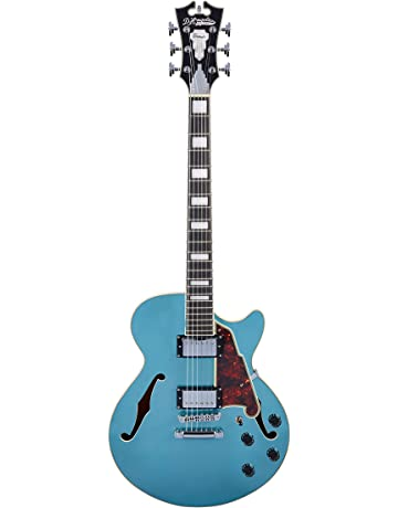 DAngelico Premier SS Semi-Hollow Electric Guitar w/ Stop-Bar Tailpiece