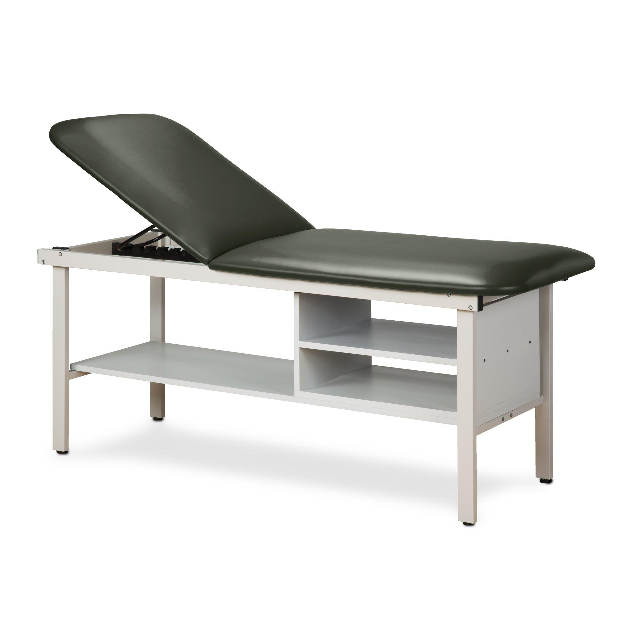 30'' Width Alpha Treatment Table with 2 shelves Gunmetal
