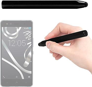 DURAGADGET Lápiz Stylus Negro para Smartphone BQ Aquaris U Lite/U Plus/U / X5 Plus: Amazon.es: Electrónica