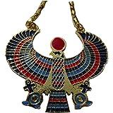 Pendentif Pectoral Egyptien Faucon ANKH Horus Medium. Très bon rapport qualité/prix.