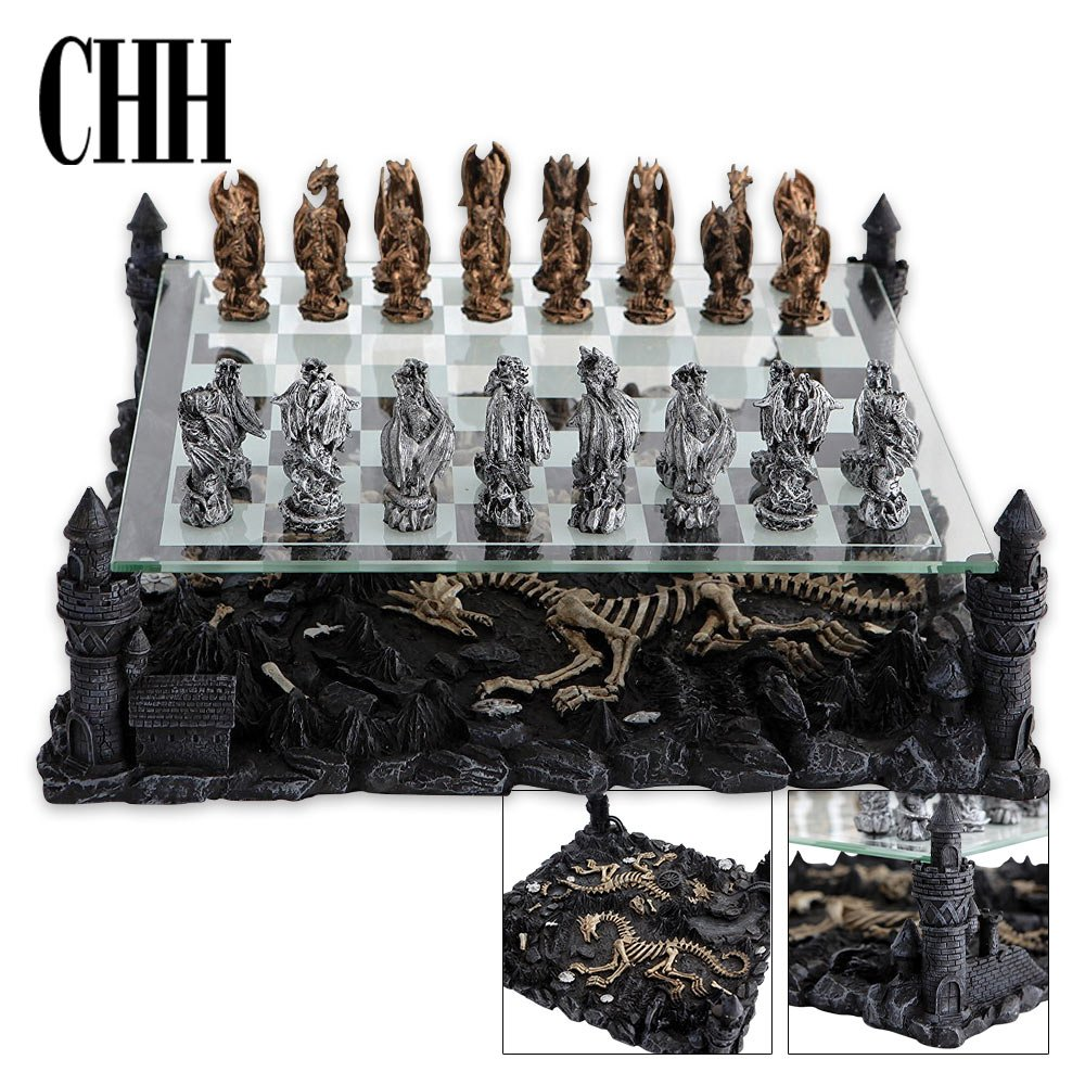 Dragon Chess Set CHH CHH2127C