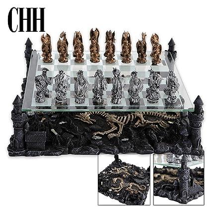 Attractive Dragon Chess Set