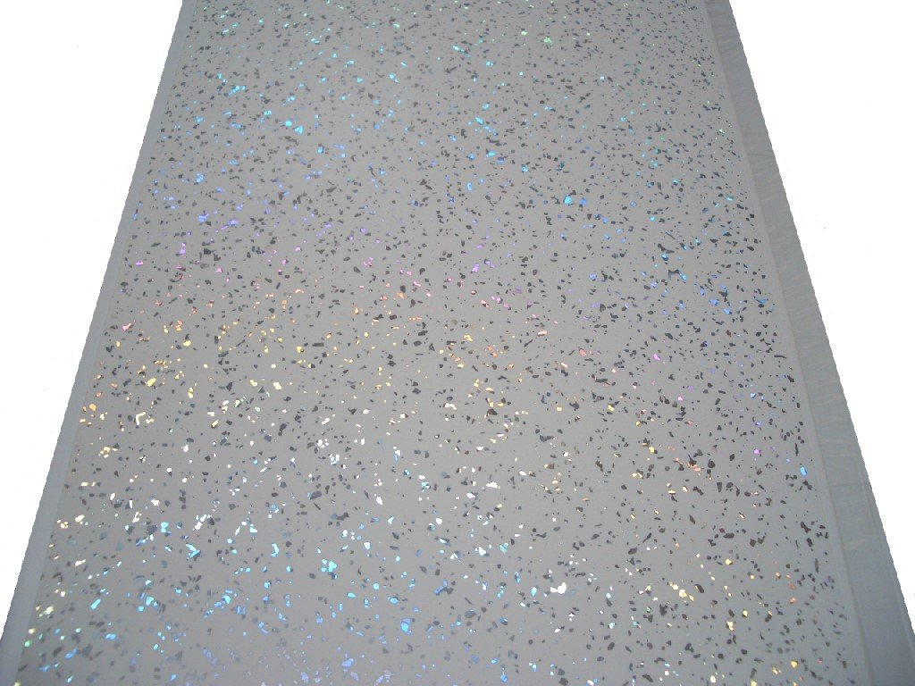 Sparkle Cladding Panels for Walls Ceilings White Bathroom Wall Panels PVC Plastic 100/% Waterproof by Claddtech 18 Panels