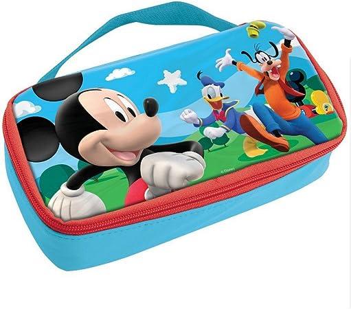 Bolsa de merienda Mickey térmica Caja, Estuche de Disney para niños: Amazon.es: Hogar