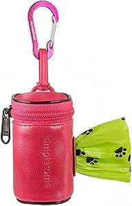 simpletome Dog Waste Bag Dispenser for Leash Belt Waterproof 1680D Oxford YKK Zipper