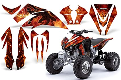 Amazon.com: CreatorX Kawasaki Kfx 450 Graphics Kit Decals Stickers ...