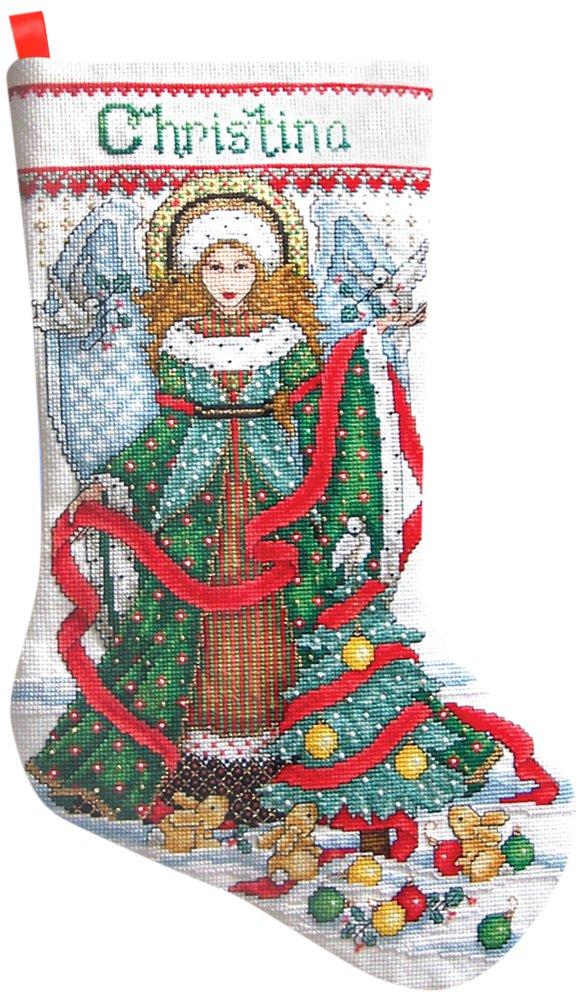 Christmas Angel Stocking