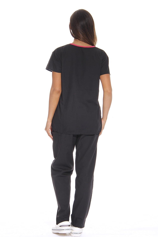 29f0a36abd1 Amazon.com: Just Love Women's Scrub Sets Medical Scrubs (Mock Wrap):  Clothing
