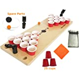 Mini Beer Pong Game or Juice Pong Game SHOTS 🏀 with SPARE and BONUS pieces Classic Adults Party Sports DRINKING GAMES