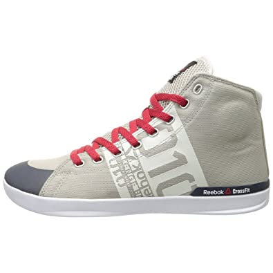 f0324068a802 Reebok CrossFit Lite TR Poly Trainers High Top Chalk Mens Sneakers Sports  Shoes (UK10½)