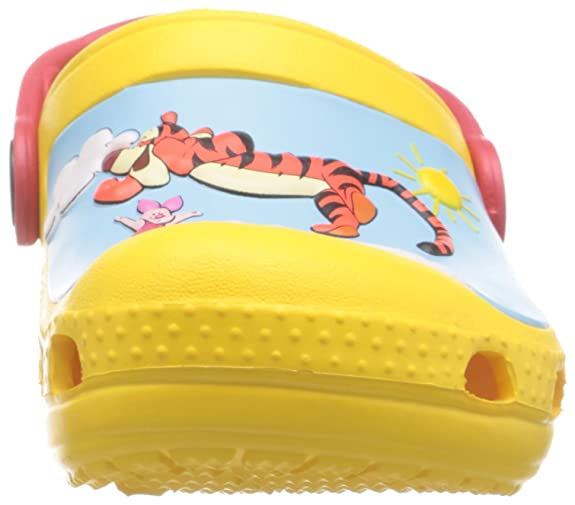 a1f6bc46840d0 crocs CC Winnie The Pooh Jumps Boys Clog in Yellow  Buy Online at Low  Prices in India - Amazon.in