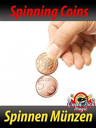 Quick Pick Magic Verknüpfung Münzen 5c Spinnen Münzen Nahansicht
