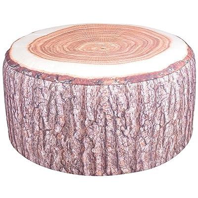 Esschert Design BK014 Outdoor Poufs Garden Seat, Tree Trunk : Garden & Outdoor