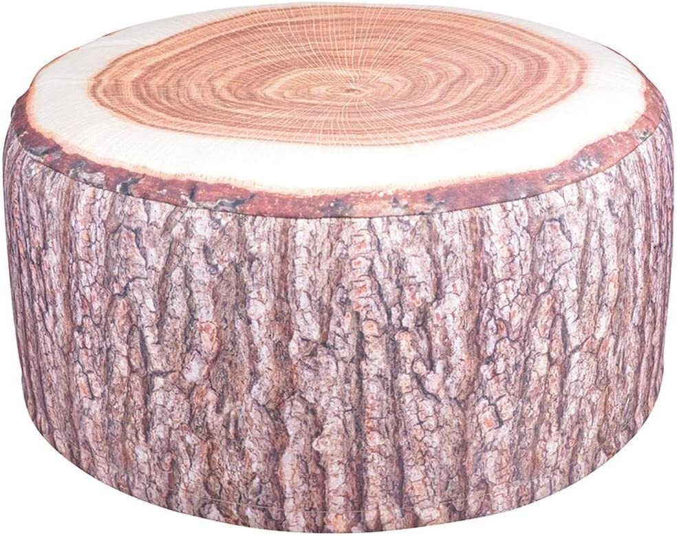 Esschert Design BK014 Outdoor Poufs Garden Seat, Tree Trunk