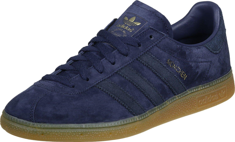 Chaussures Adidas Munich 6.0 Bleu / Gomme Fonc