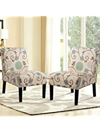 Harperu0026Bright Designs Upholstered Accent Chair.