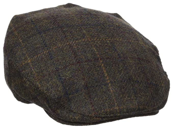08828528daf Henschel Men s Wool Blend Plaid Ivy Hat with Quilt Lining at Amazon ...
