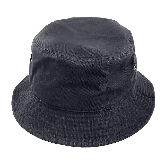 5557fb819f8 Amazon.com  Falari Men Women Unisex Cotton Bucket Hat  Clothing
