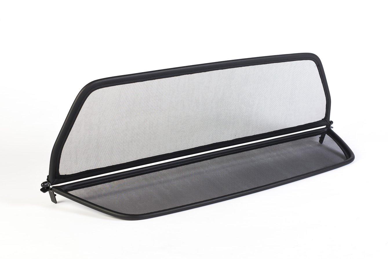 Dé flecteur de vent pliable avec fermeture rapide - noir pour Mercedes SL R129 1989-2001 | Filet Anti-Remous Coupe | Dé flecteur d'air GermanTuningParts