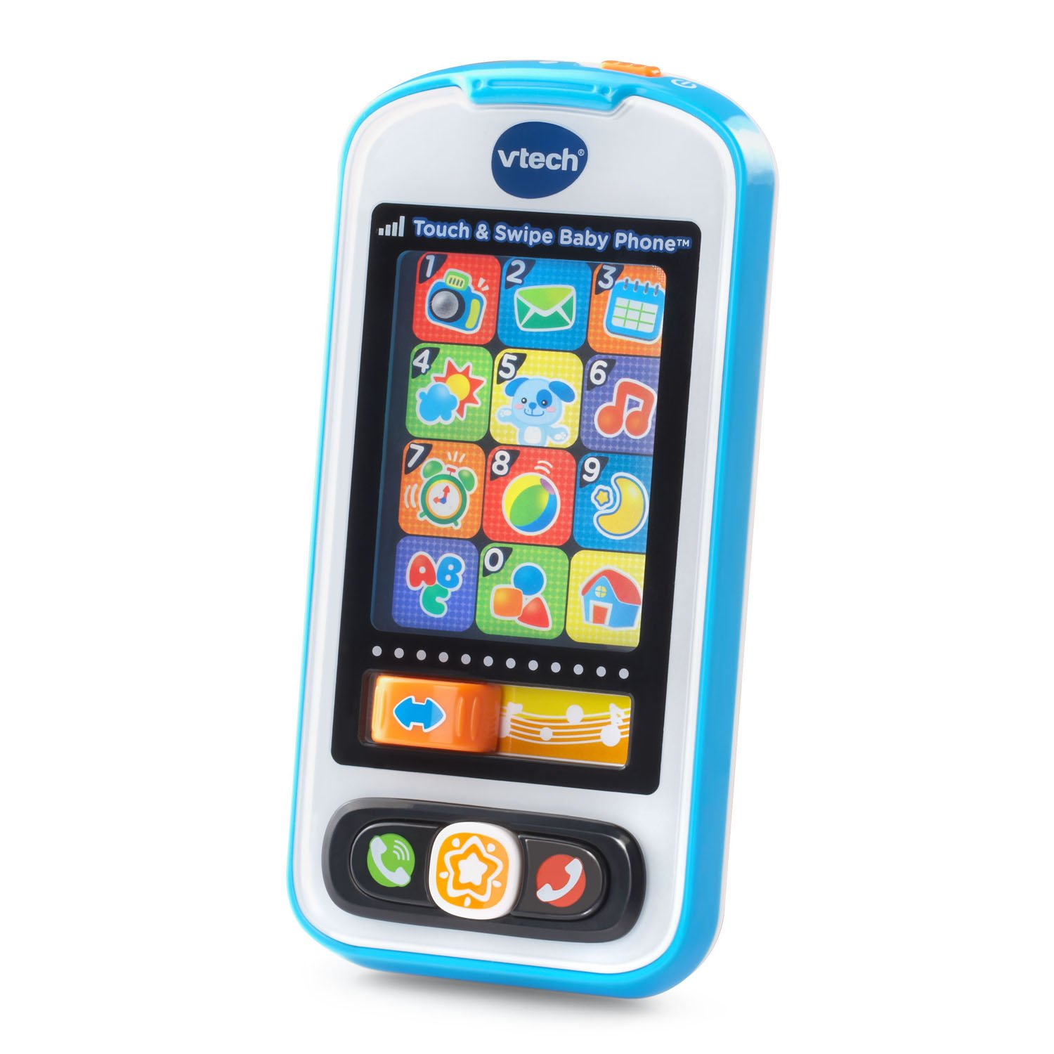 VTech Touch and Swipe Baby Phone, Blue by VTech (Image #1)