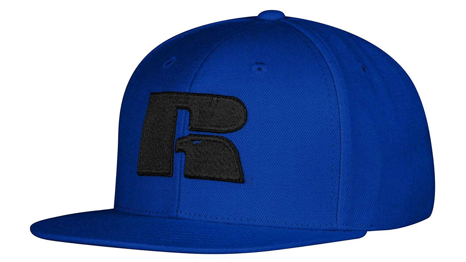 Russell Athletic Mens Logo Snapback Cap One Size (Black) at Amazon Mens Clothing store: