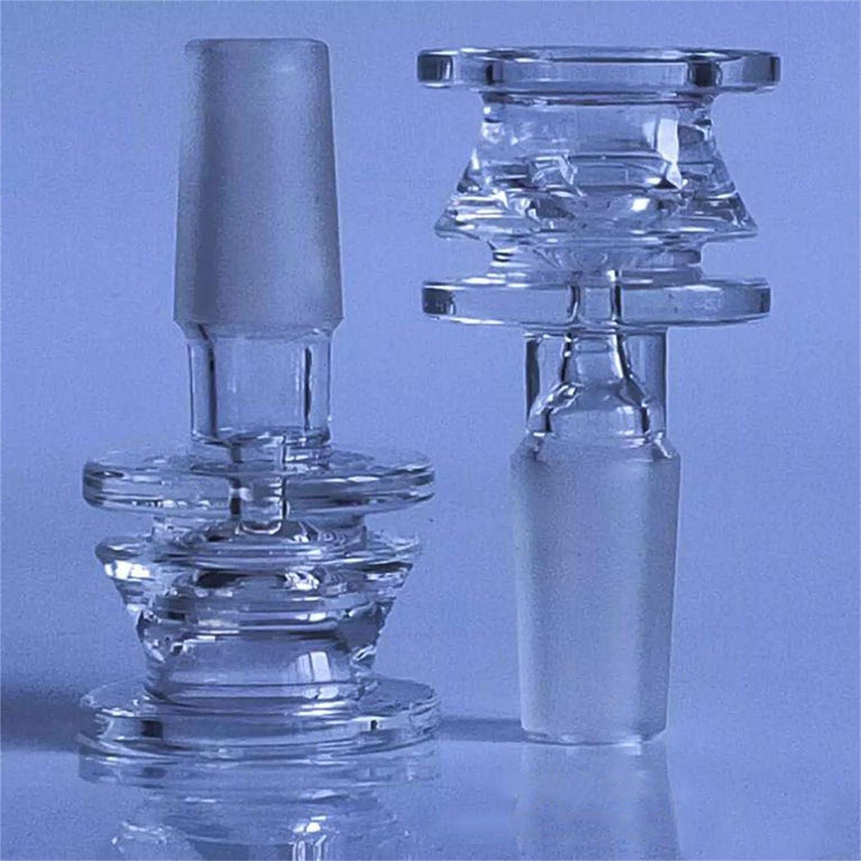2 Cute Vanilla Bowl Accessories Glass 14mm White