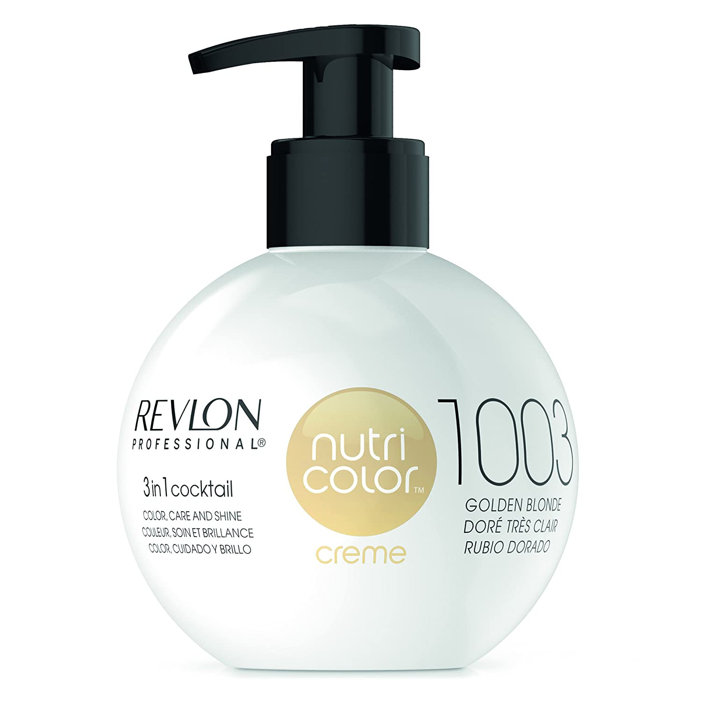 Revlon Nutri Color Creme Tinte Tono 1003 Golden Blonde - 270 ...