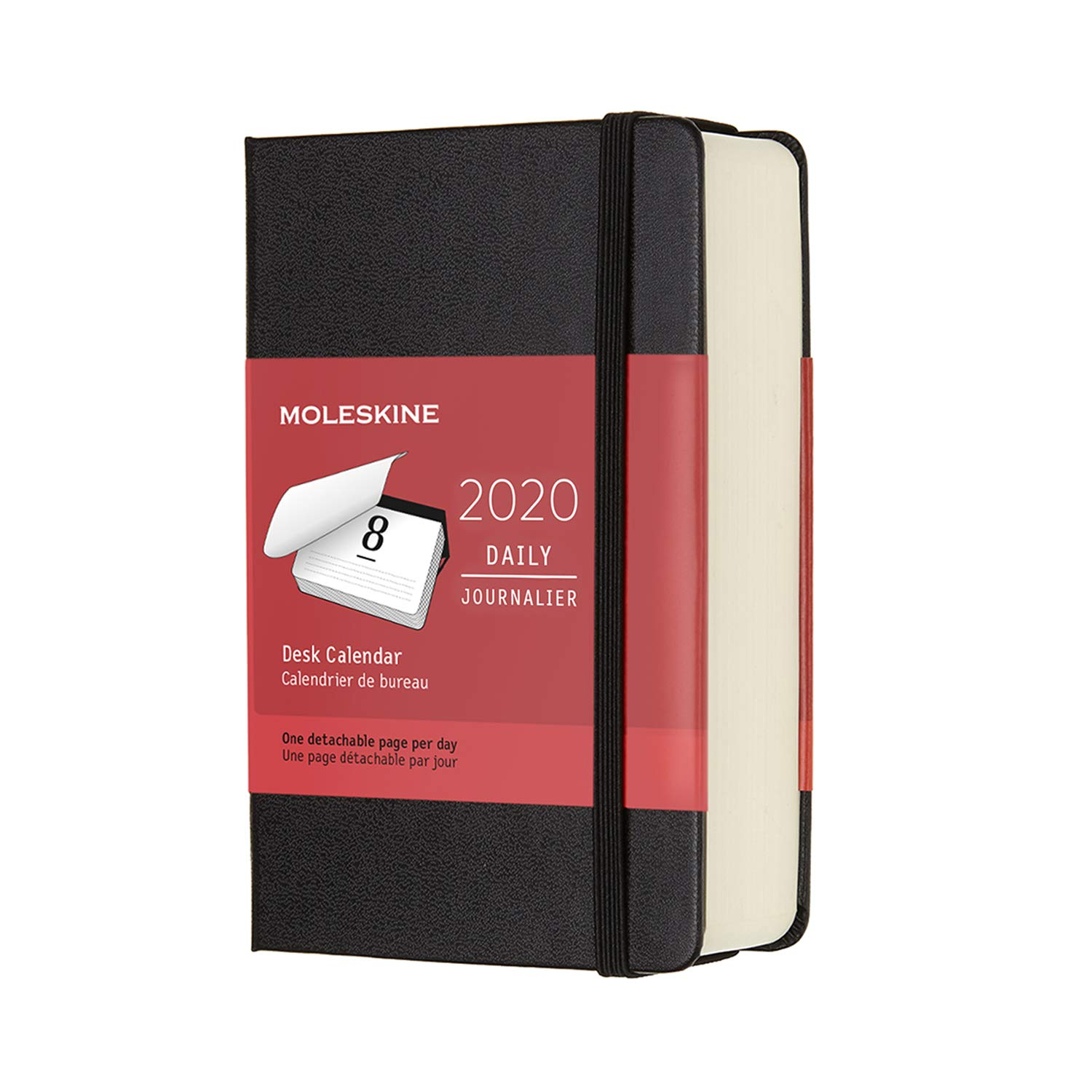 Amazon.com : Moleskine Classic 12 Month 2020 Daily Planner ...